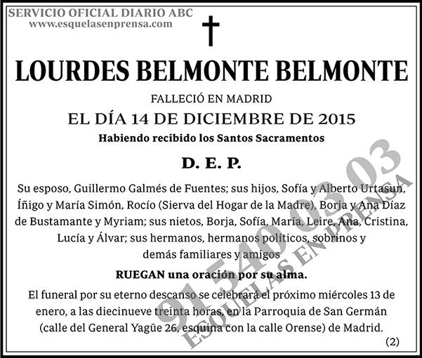 Lourdes Belmonte Belmonte